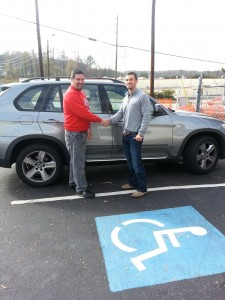 Here is one of our BMW X5 repair customers, we were able to save him $2200 under dealer costs